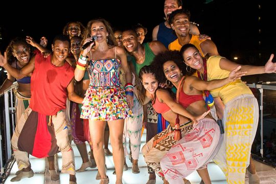 Bahia Salvador Carnival trios